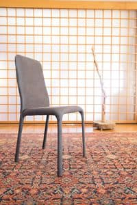 Fonte, Fully upholstered chair for restaurants and pizzerias