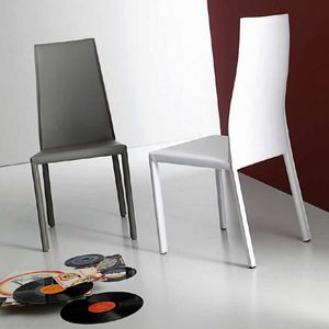 Onda, Chair in  rigenerated hide