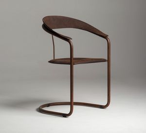 Parabolica chair, Chair with cantilever frame, in vintage style