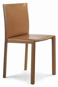 Picture of Pasqualina chair 10.0080, leather dining chair