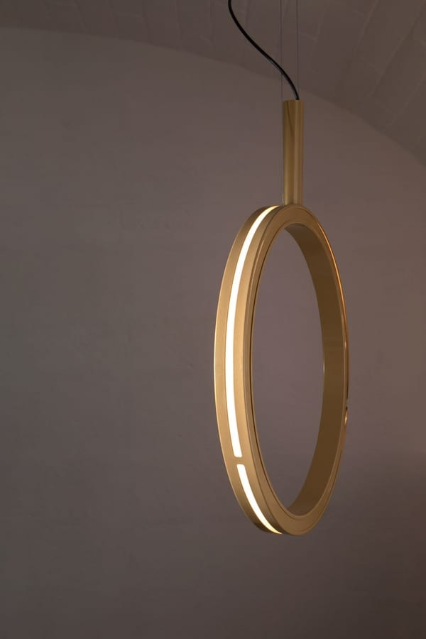 Periplo SE156 B, Lamp in the shape of a circle, with LED lights