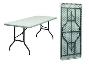 3065, Folding table with structure in painted iron