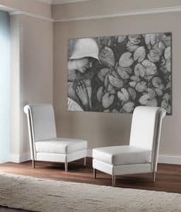 Picture of TIFFANY big chair 8669A, suitable for waiting areas