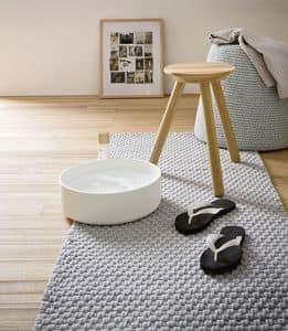Picture of FONTE stool with basin, suitable for shoe shop