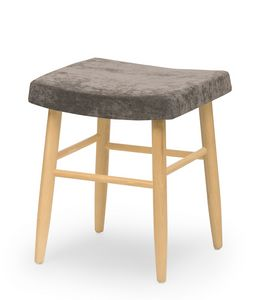 Web stool low, Low stool without backrest