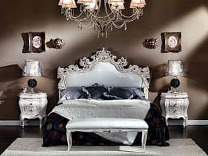 Picture of 3445 BED, hand-carved bed