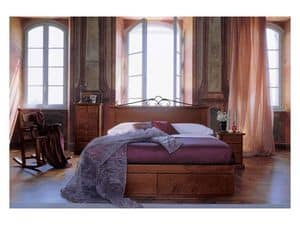 Picture of 432 FB, classic style wooden beds