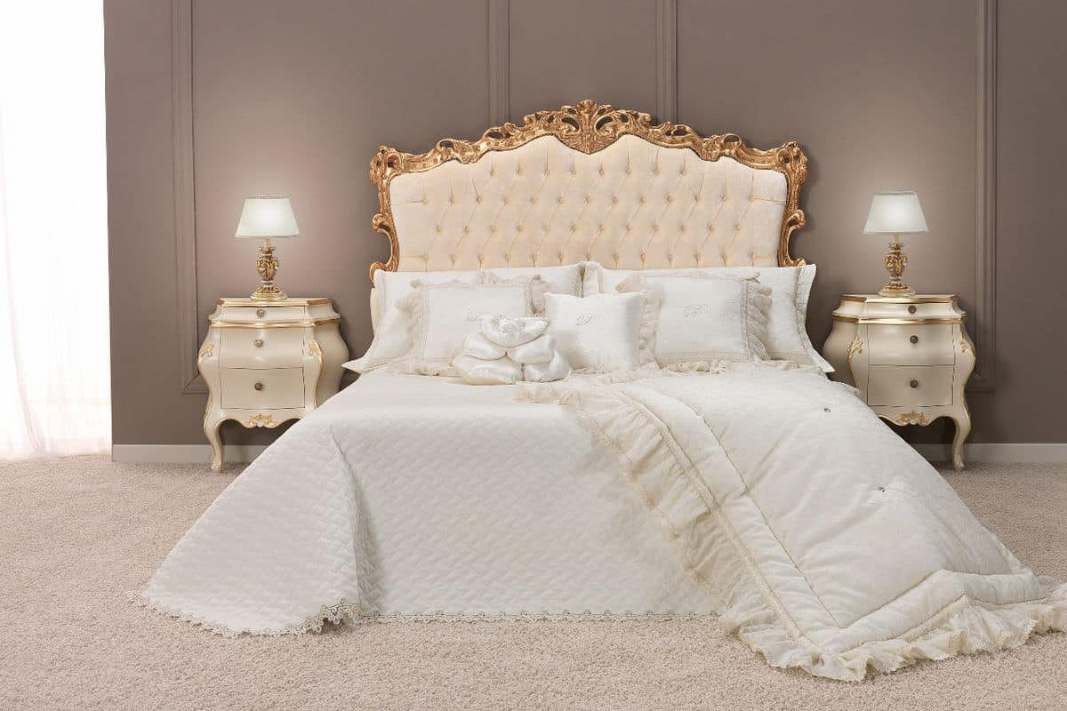 HOME P08 Classic Categories index Beds Classic and luxury style Padded