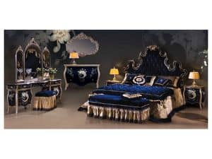 Picture of Art. 3150, classic style wooden bed
