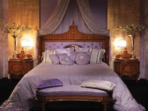 Picture of Art. 3457, sumptuously decorated bed