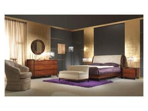 Picture of Art 509 Bed, beds in wood