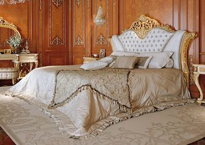 Art. 810, Luxurious bed with headboard capitonn�