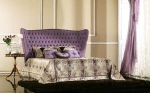 Picture of Bernini, hand decorated bed