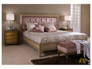 Picture of Classical bedroom Luxe - bed, baroque bed