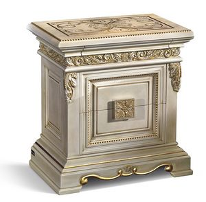 4021, Luxury bedside table with decoration