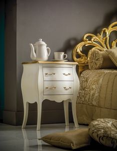 Art. 0183.015, Bedside table for elegant classic-style bedrooms