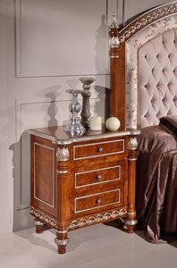 Art. 2087, Luxurious bedside table for elegant bedrooms