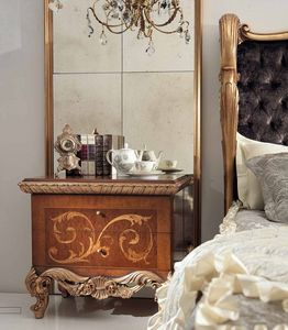 Art. 830/C, Luxurious hand-crafted nightstand