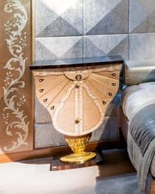 CD28 Farfalla, Classic bedside table with 2 drawers