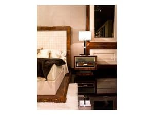 Picture of Dolce Vita Bedside Table, wooden bedside tables