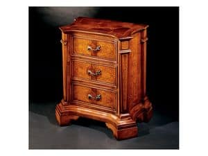 Picture of Ferrara bedside table 705 C, classic style bedside tables