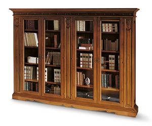 1481V2, Four door bookcase in classic style