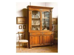 Picture of 2000/b, bookcase in decorated wood
