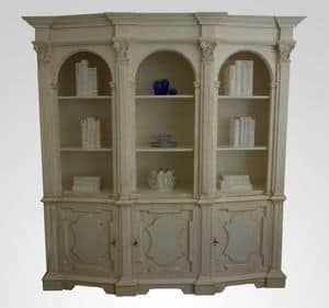3550 BOOKCASE, Luxurious wooden bookcase, for classic living room