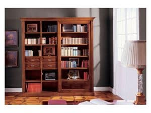 Picture of Album Bookcase, distressed bookcases