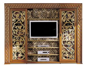 1095V2, TV cabinet with sliding doors