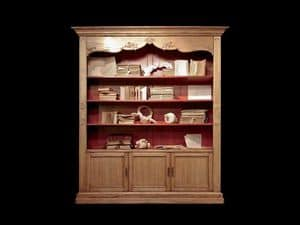 Picture of ART 316, bookcase in decorated wood