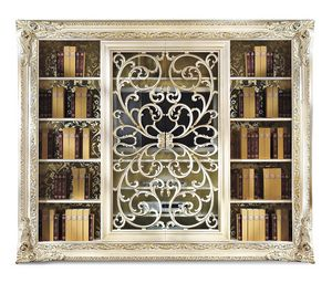 Picture of Art. 4018AB, hand decorated bookcases