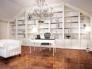 Picture of Art. Volterra bookcase, luxury bookcase
