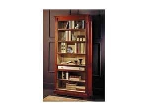 Picture of Classic bicolor bookcase, classic style bookcase