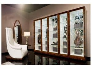 Picture of Dolce Vita Bookcase, hand worked bookcase