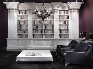 Picture of Libreria Saffo, refined bookcase