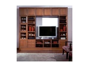Picture of Modular classical Delo home, luxurious bookcases