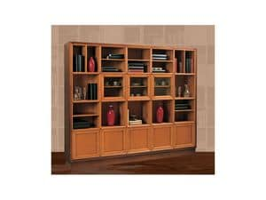 Picture of Modular classical furnishing, furniture for books