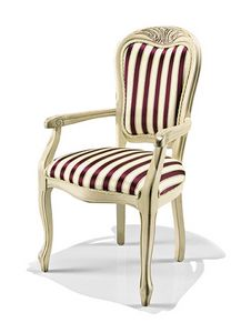 Picture of Art. 1318/A, padded chairs with arms