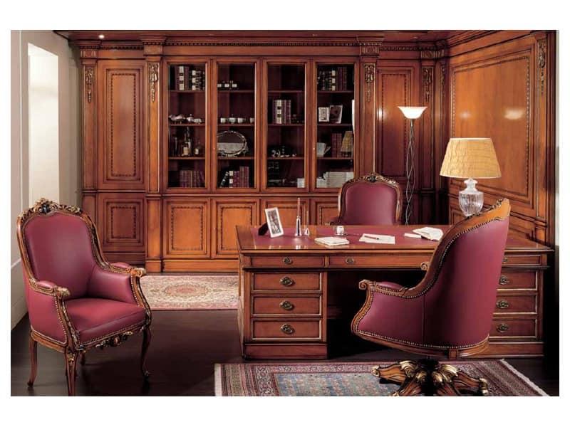Seats chairs classic style idf for Bellotti arredamenti