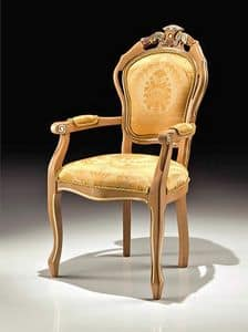 Picture of Art. 2506/A, carved wood chairs