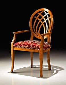 Picture of Art. 8028/A, padded chair with arms