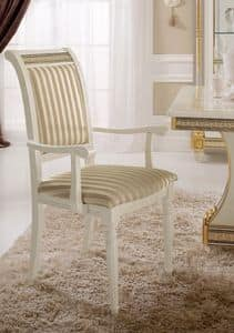 Picture of Liberty chair with armrests, suitable for halls