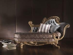 Picture of 3350, padded chaise longue