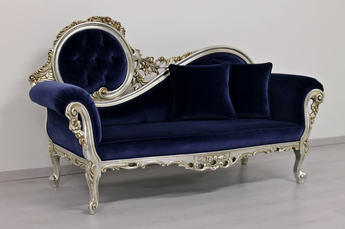 chaise longue rococo style idfdesign. Black Bedroom Furniture Sets. Home Design Ideas