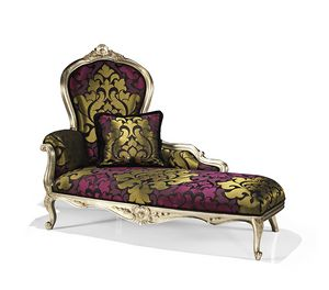 Picture of Art. 1749/L, stuffed chaise longue