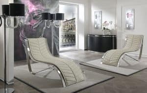 Picture of Wave, carved-chaise-longue