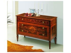 Picture of 645, classic style chests of drawers