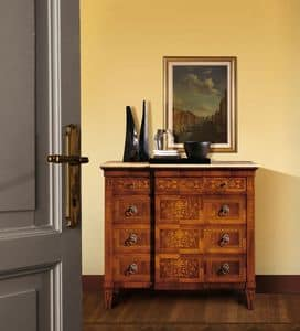 Picture of Art. 107, hand-decorated-sideboards