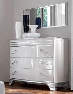 Picture of Art. 349 Vivre chest of drawers, luxury sideboards